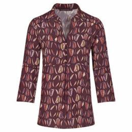 Mado Et Les Autres  Printed blouse  women's Blouse in Brown