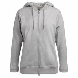 adidas  Essentials grey hoodie sweatshirt  women's Sweatshirt in Grey