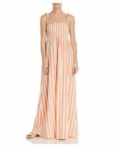 Show Me Your MuMu Maggie Striped Maxi Dress