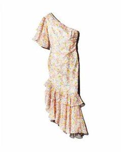 Amur Wild Meadow One-Shoulder Silk Dress