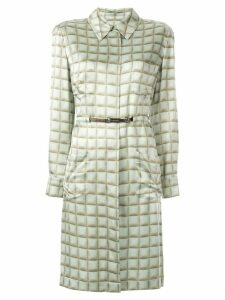 Chanel Pre-Owned long sleeve one piece skirt - Green
