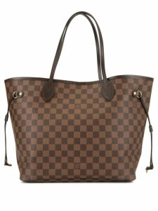 Louis Vuitton Pre-Owned Neverfull MM shoulder tote bag - Brown