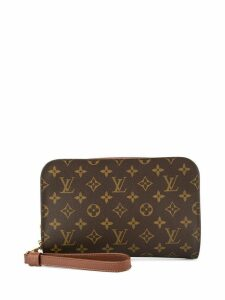 Louis Vuitton Pre-Owned Orsay clutch - Brown