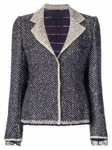 Prada Pre-Owned tweed jacket - Purple
