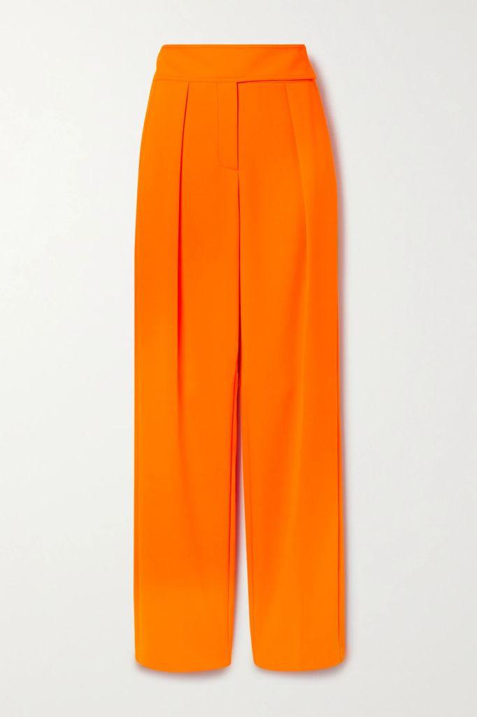 GANNI - Leopard-print Stretch-silk Satin Maxi Dress - Leopard print