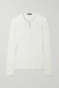 Petar Petrov - Tie-front Twill Dress - Peach