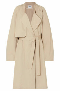 AMBUSH® - Belted Cotton Coat - Beige