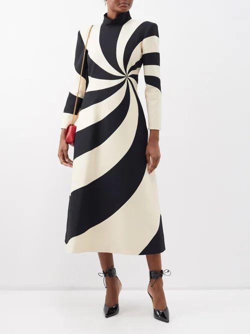 Isabel Marant - Geoffrey Lace Panel Insert Linen Blouse - Womens - White