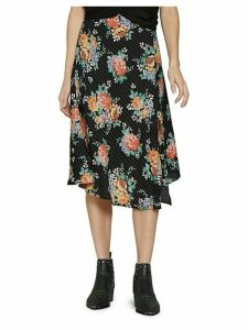 Floral Santorini Midi Skirt