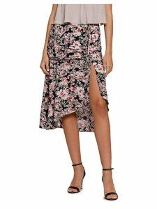 Phyllis Floral Split Midi Skirt