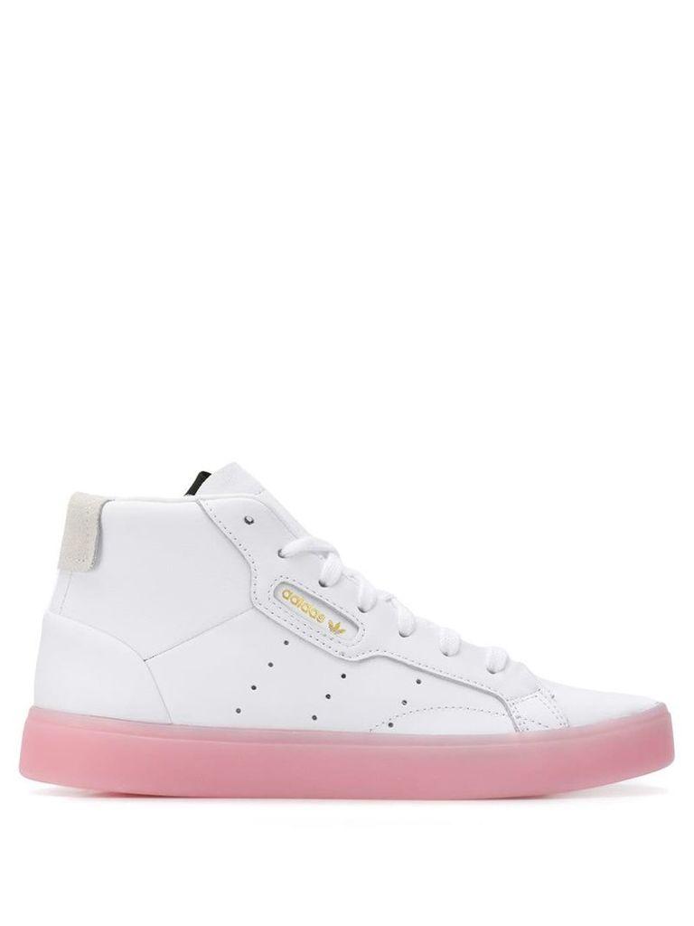 Adidas hi-top sneakers - White