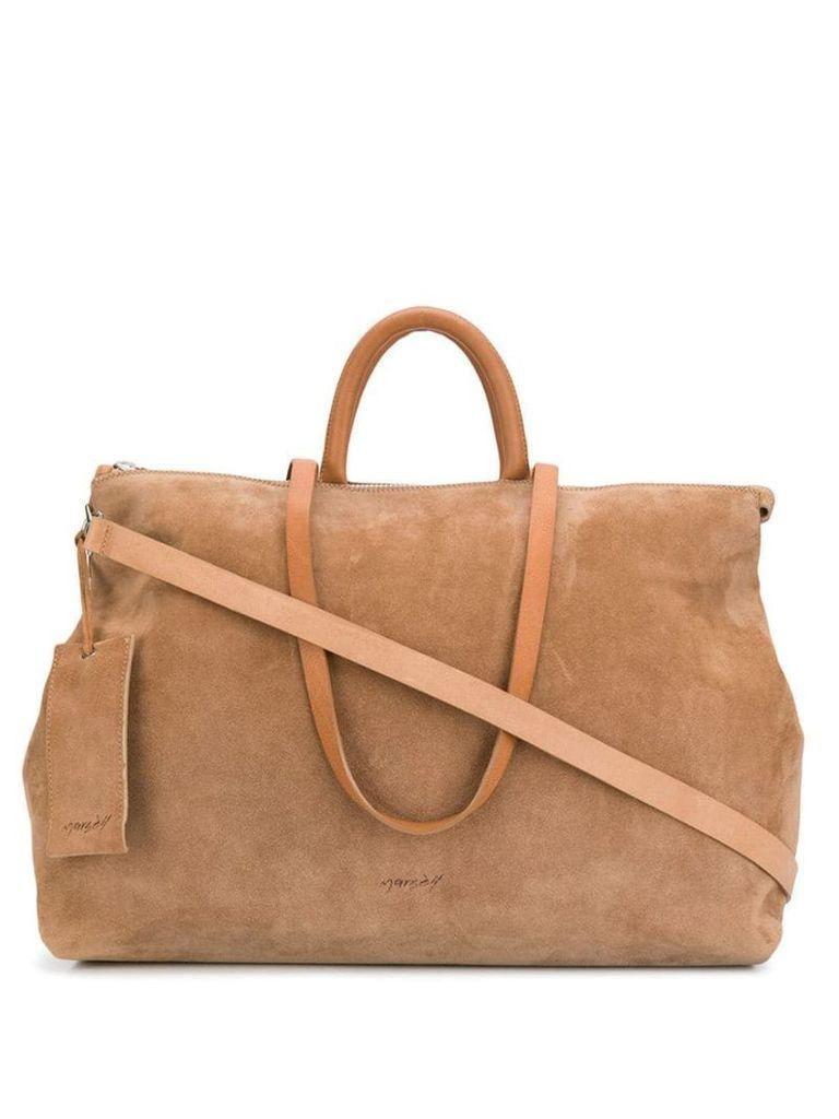Marsèll classic luggage tote - Neutrals