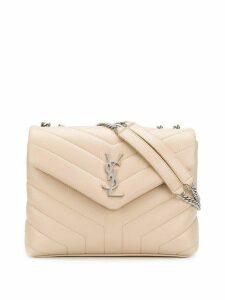 Saint Laurent small LouLou chain bag - Neutrals