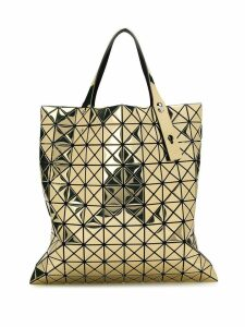 Bao Bao Issey Miyake metallic Prism tote bag - Gold