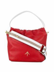 Manu Atelier mini bucket bag - Red