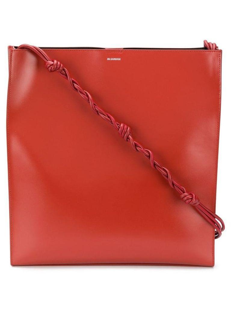 Jil Sander Tangle shoulder bag - Red