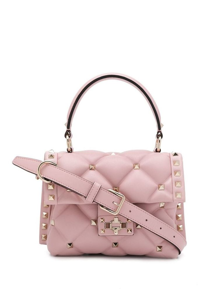 Valentino studded shoulder bag - Pink