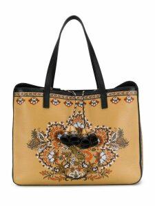 Etro floral print tote bag - Neutrals
