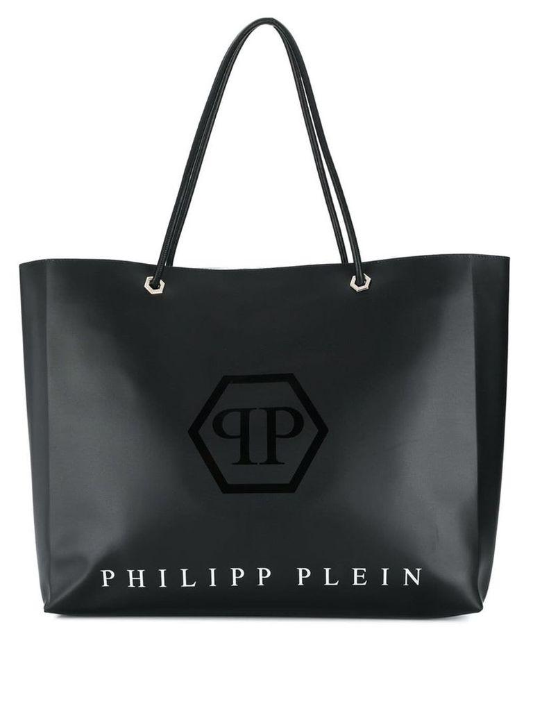 Philipp Plein Statement tote bag - Black