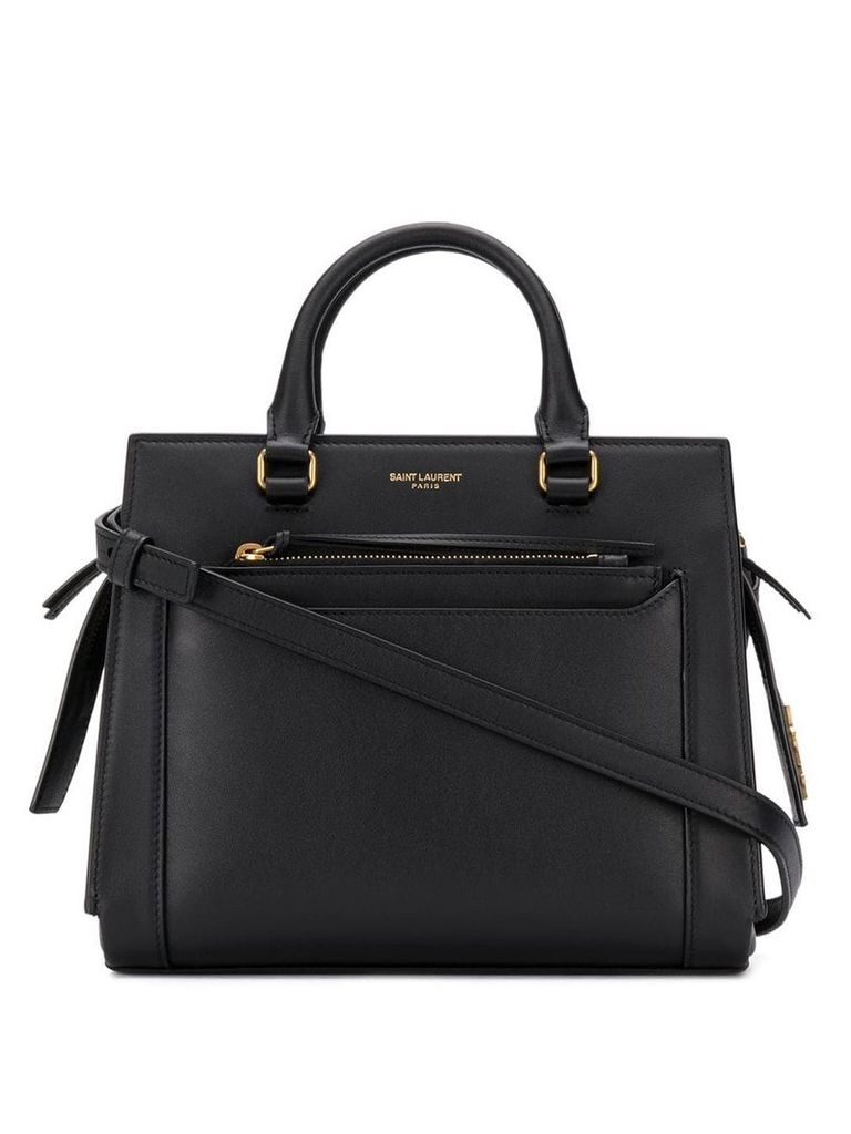 Saint Laurent mini tote bag - Black