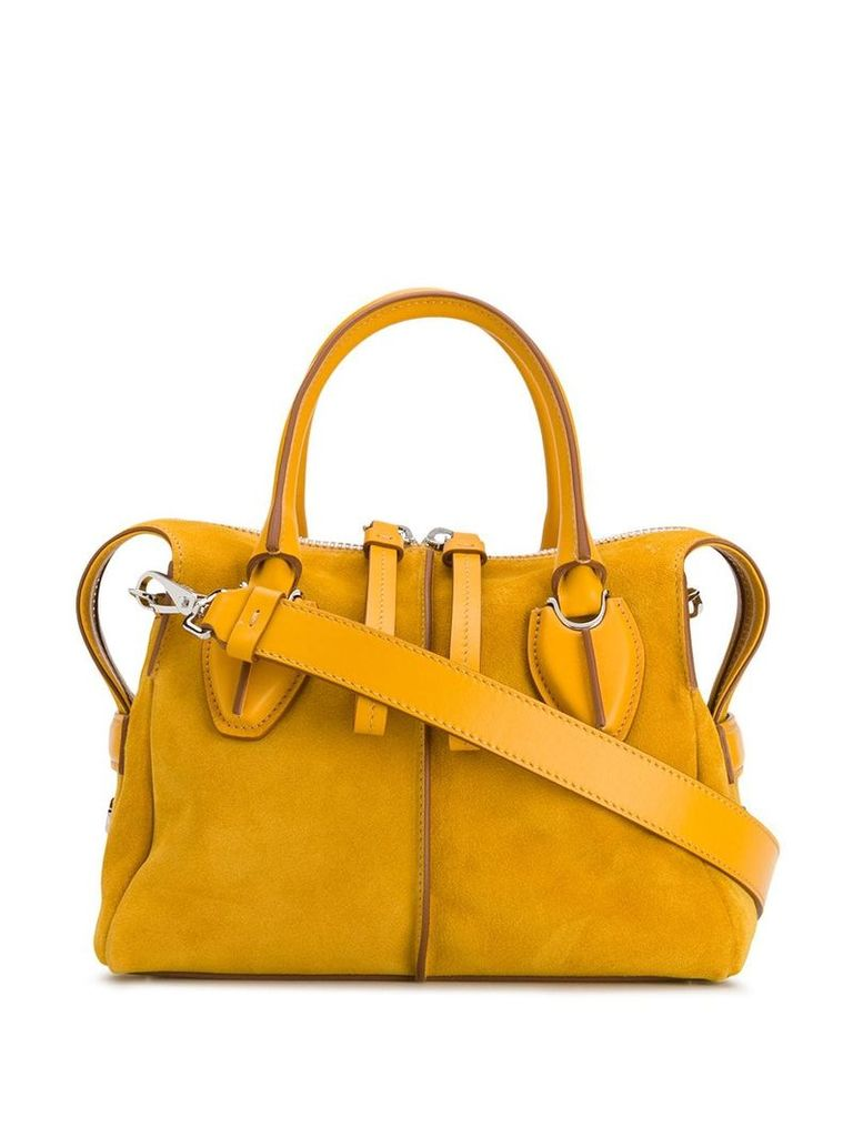 Tod's D-Styling mini tote - Yellow