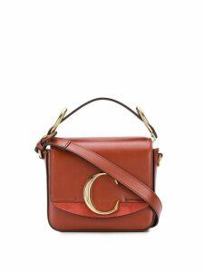 Chloé C mini cross body bag - Brown