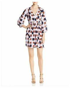 kate spade new york Geo Squares Mini Dress