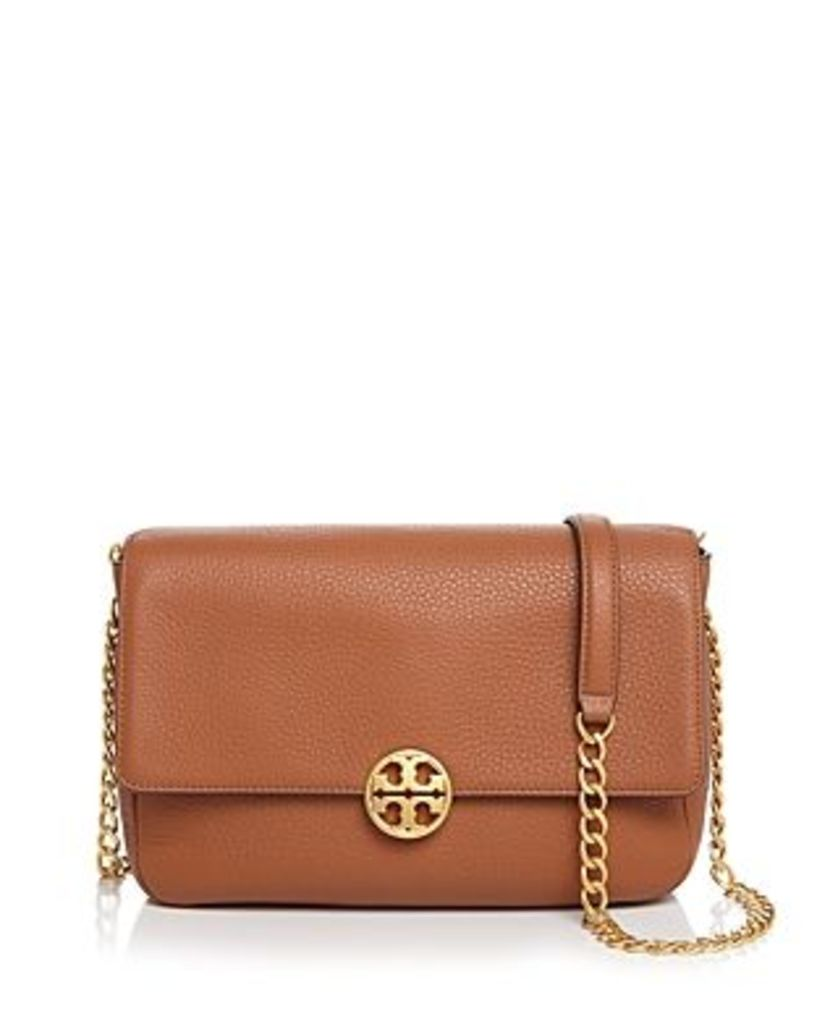 Tory Burch Chelsea Leather Convertible Shoulder Bag