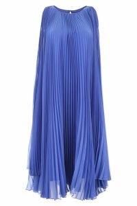 Max Mara Pleated Georgette Dress