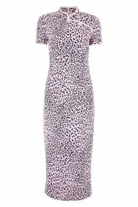 Alessandra Rich Leopard-printed Dress