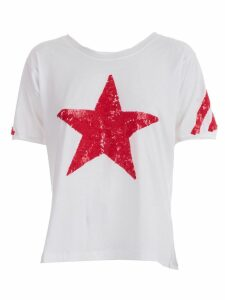 Parosh Star Beaded T-shirt
