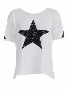Parosh Star Beaded T-shirt