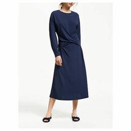 Modern Rarity Wrap Front Jersey Dress