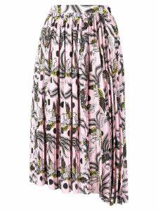 Kenzo phoenix print skirt - Pink
