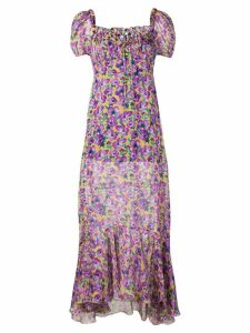 Raquel Diniz Alice chiffon dress - Purple