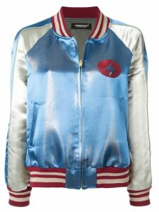 UNDERCOVER Bowie bomber jacket - Blue