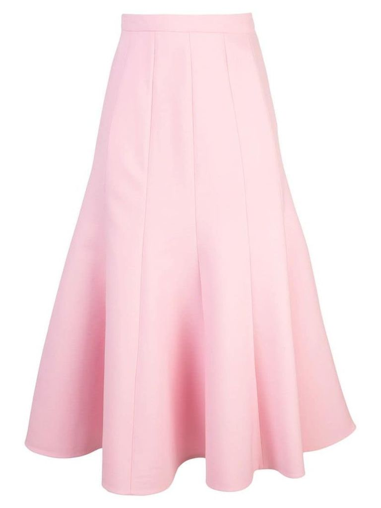 Oscar de la Renta flared skirt - Pink