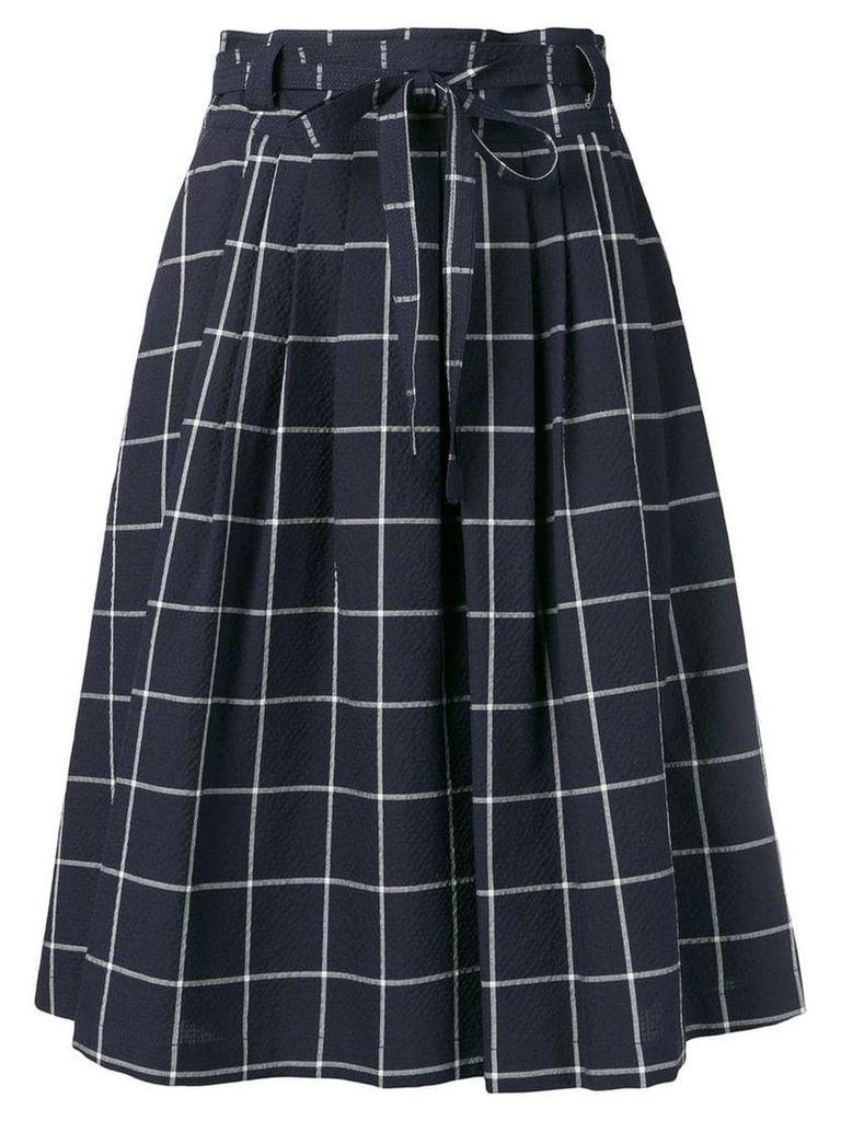 PS Paul Smith tie-waist skirt - Blue