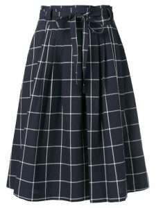 PS Paul Smith tie-waist skirt - Blue