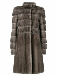 Liska Carina fur coat - Brown