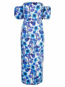 Borgo De Nor floral day dress - Blue