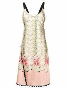Marco De Vincenzo sheep print dress - Pink