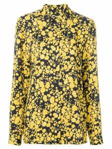Victoria Victoria Beckham floral print shirt - Yellow