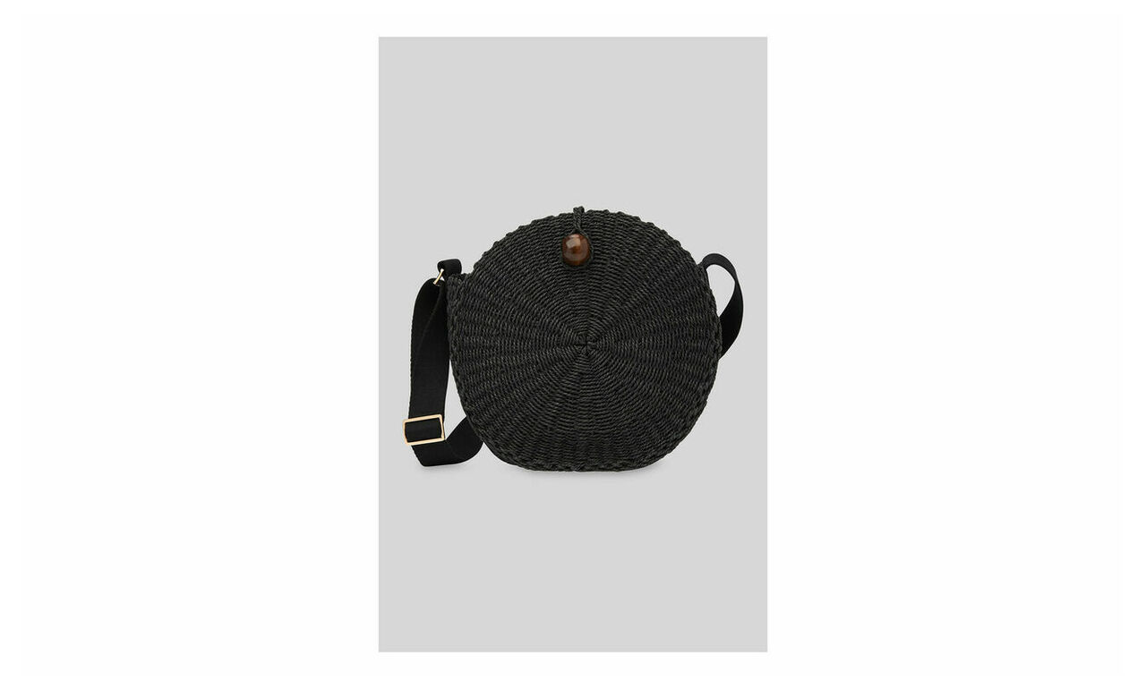 James Circular Crossbody Bag