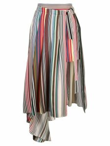 Monse asymmetric skirt - Multicolour