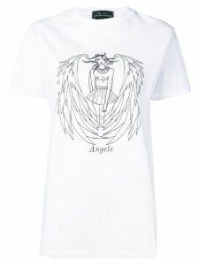 Barbara Bologna angel print T-shirt - White