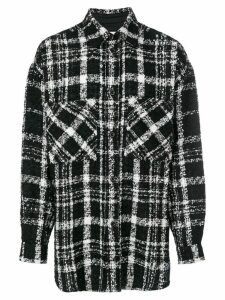 Faith Connexion knitted pattern shirt - Black