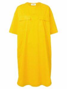 Cabane De Zucca oversized shirt dress - Yellow
