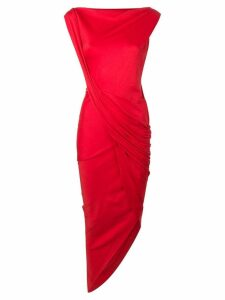 Vivienne Westwood Anglomania ruched tube dress - Red