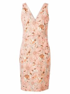 Stella McCartney floral mini dress - Orange